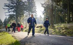Bewegung an der frischen Luft des Thüringer Waldes